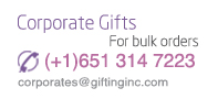 Send corporate bulk orders call us on (001) 651 314 7223 now